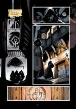 Des chevaliers noirs... Page 12 de l'album (Akileos, 2015)