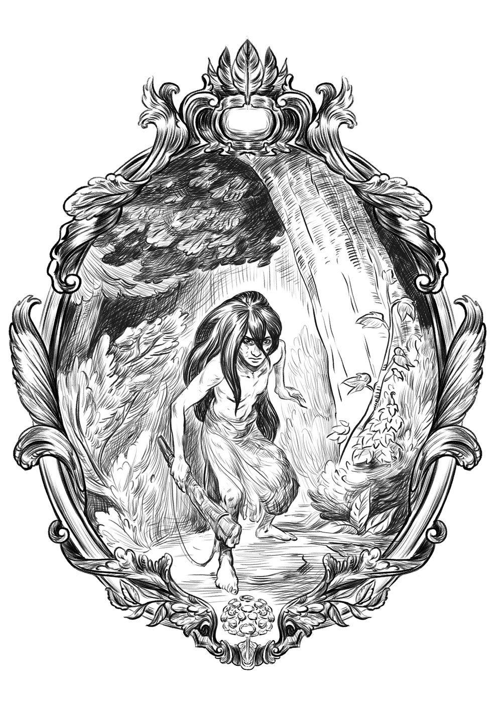 Illustration pour la page de titre