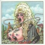 Dolly Parton vue par Jean Solé.