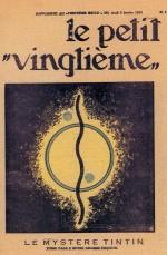 Les trois couvertures dessinées pour Le Petit Vingtième, parus les 5, 12 et 19 janvier 1933