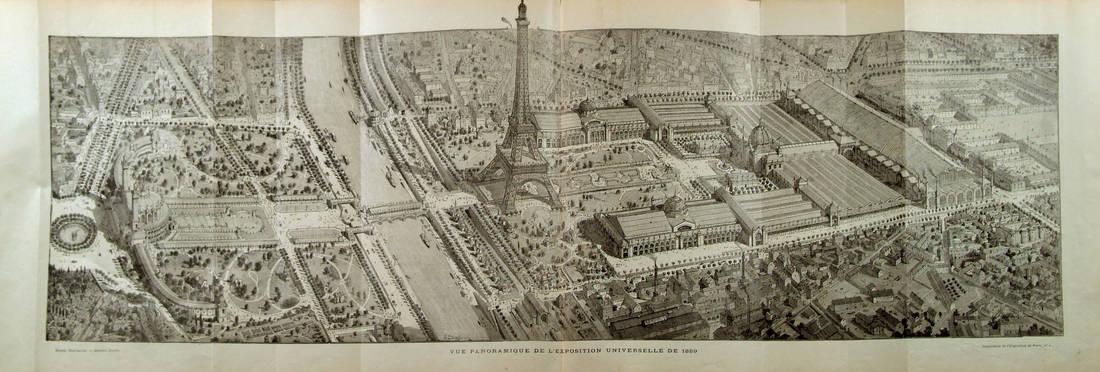 Vue panoramique sur l'Exposition