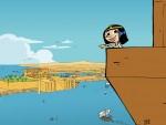 Cléo la petite pharaonne et Alexandrie