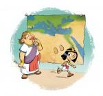 Cléo la petite pharaonne  page 1