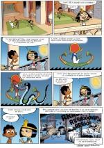 Cléo la petite pharaonne  page 5
