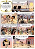 Cléo la petite pharaonne  page 9