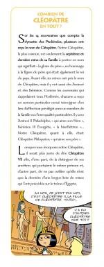 Cléo la petite pharaonne  texte Cléopâtre