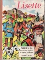 LISETTE-ALBUM-RELIURE-1957-N-34-BE-BE