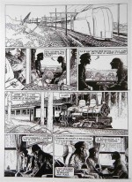 Schuiten – planche des « Cités obscures » – lot 245