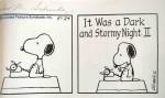 Schultz – « Peanuts » strips de 1983 (détail) – lot 247