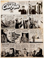 Caniff – planche de « Steve Canyon » – lot 40