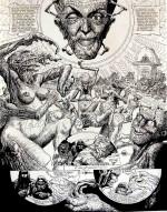 Druillet – planche de « Lone Sloane : Délirius » de 1972 – lot 71