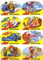 Autocollants publiés dans les n° 38 à 40 de Super As.