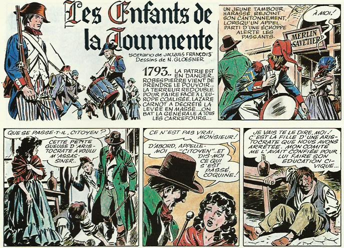 « Mademoiselle Ci-devant » transformée en « Les Enfants de la tourmente ».