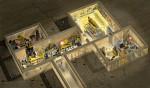 Reconstitution du tombeau de Toutankhamon