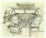 Étude pour le poste de pilotage du Carreidas 160.