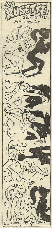 Un autre gag de Claude Martin paru dans le n° 23 du 15 mai 1954.