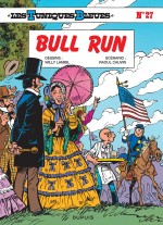 Les Tuniques bleues présentent  couverture Bull Run