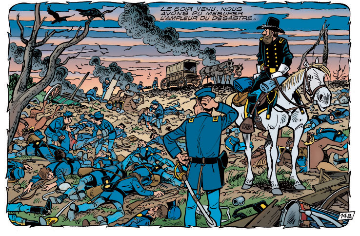 Les Tuniques bleues présentent bataille
