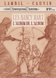 Les Tuniques bleues présentent crayonné Nancy HART
