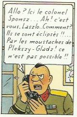 Extrait de « L'Affaire Tournesol » page 52.