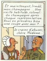 Extrait de « L'Affaire Tournesol » page 54.