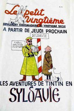 Annonce en couverture du Petit Vingtième.