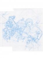 Recherches pour le tome 25 : crayon bleu