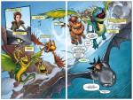 Dragons T1 : Tombé du ciel pages 4 & 5