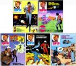Les couvertures de Spirou dessinées par Michel Pierret.