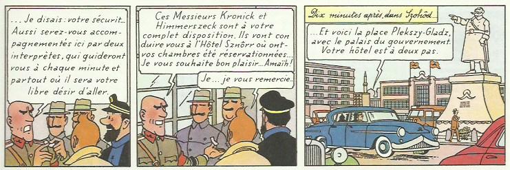 Extraits de « L'Affaire Tournesol » page 47.