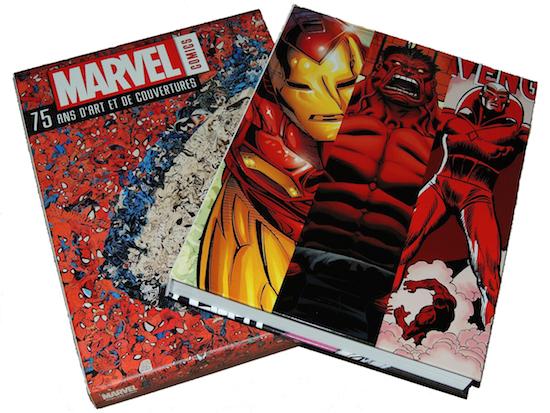 marvel comics 75 ans d'art et de couvertures
