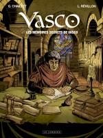 Couverture des Mémoires secrets de Vasco (Lombard, 2011)
