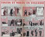 « Le Sceptre d'Ottokar » rebaptisé « Tintin et Milou en Syldavie » dans Cœurs vaillants.