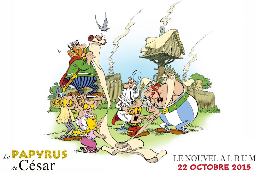asterix papyrus cesar
