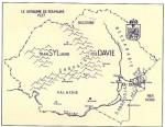 Carte de la Roumanie en 1937.