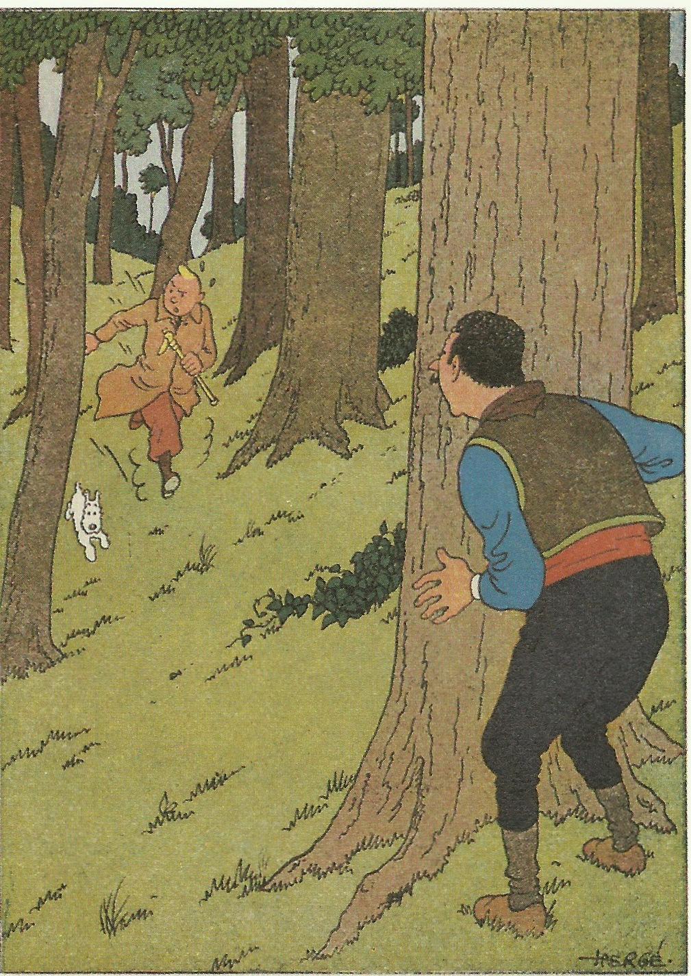 Hors texte pour « Le Sceptre d'Ottokar ».