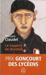 """Couverture du roman initial par Philippe Claudel (version Le Livre de poche, 2009 ; """"Le Jeune homme de l'hospice"""", Roger Toulouse 1947))"""