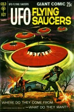 Couverture pour le comic UFO flying saucers (Gold Key, 1968)
