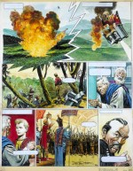 Planche originale de Don Lawrence pour « L'Empire de Trigan ».