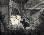 """Les racines du mal dans La Belle au bois dormant : Gustave Doré, planche pour """"Les Contes de Perrault"""" (Hetzel, 1867)"""