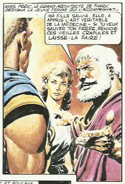 « L'Empire de Trigan T1 : Combat pour l'Empire » (Glénat, 1982).