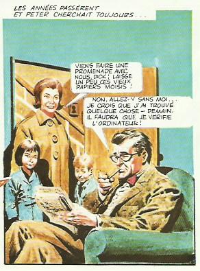 Richard Haddon dans « L'Empire de Trigan T1 : Combat pour l'Empire » (Glénat, 1982).