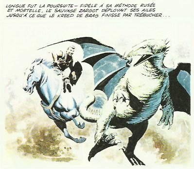 « L'Empire de Trigan T1 : Combat pour l'Empire » (Glénat, 1982).