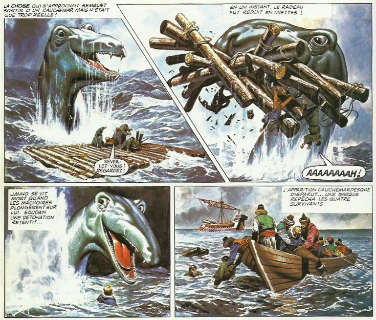 « L'Empire de Trigan T11 : L'Usurpateur » (Glénat, 1988).