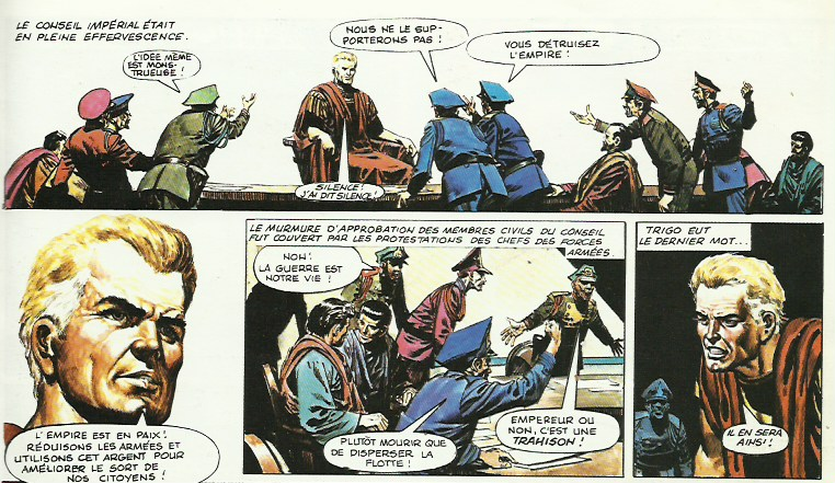 « L'Empire de Trigan T11 : L'Usurpateur (Glénat, 1988).
