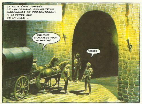 « L'Empire de Trigan, 8  La cité interdite » (Glénat, 1985).