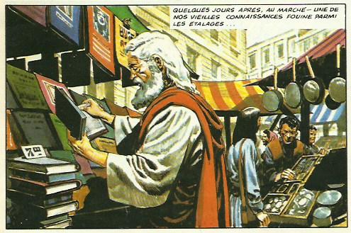 « L'Empire de Trigan T8  : La Cité interdite (Glénat, 1985).