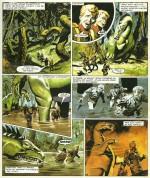 « L'Empire de Trigan T8  : La Cité interdite » (Glénat, 1985).