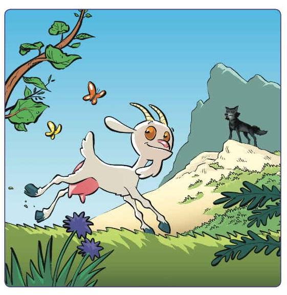 L a chèvre e M. Seguin  Biquette et le loup