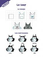 L a chèvre e M. Seguin  exercices dessin 2